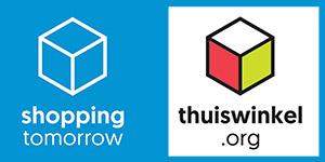 Logo ShoppingTomorrow en Thuiswinkel.org