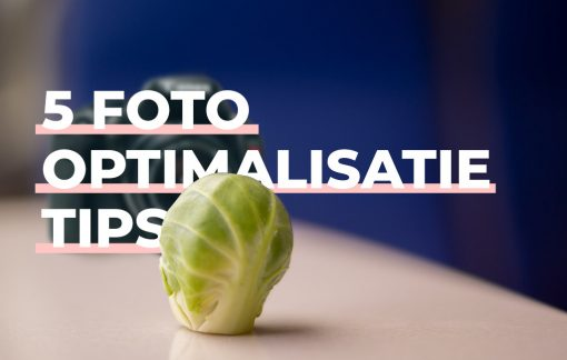 Foto optimalisatie